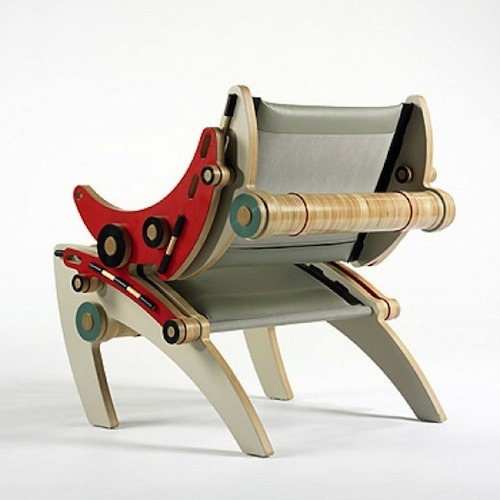 The Ipop I chair by Kenneth Smythe