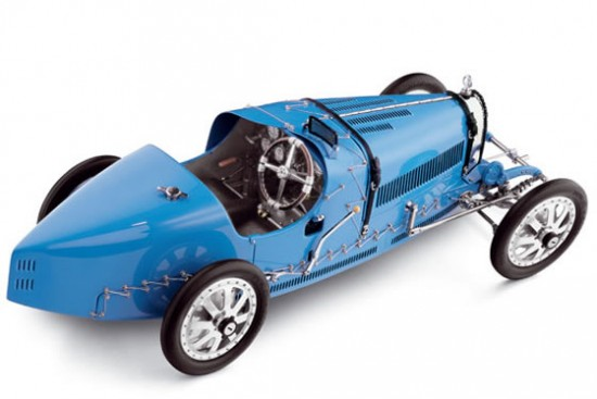 Model of the 1924 Bugatti T35 Grand Prix