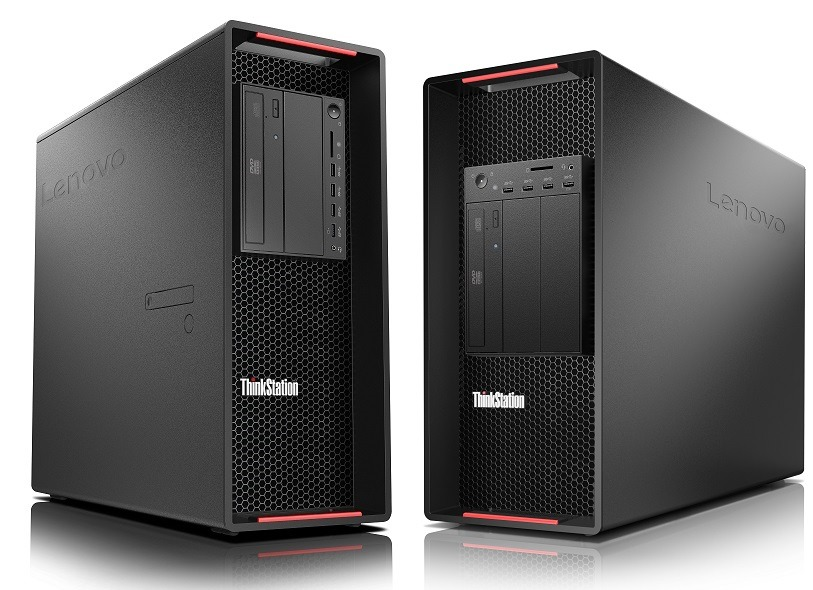 ThinkStation P920 and P720 side-by-side