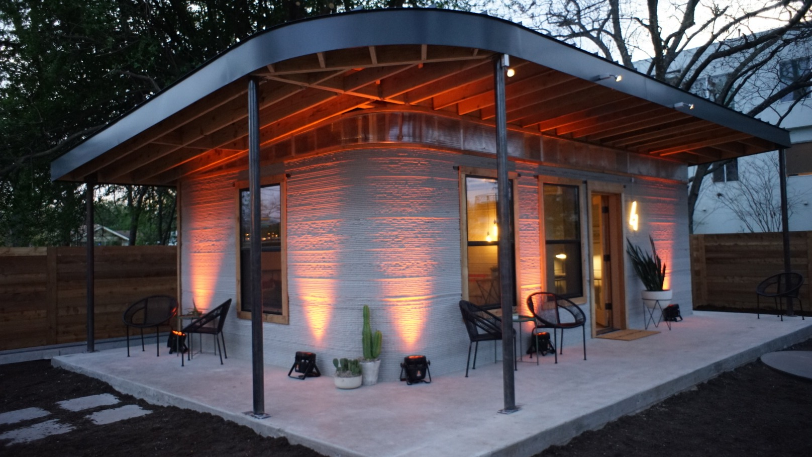 3D Printed House by Icon + New Story