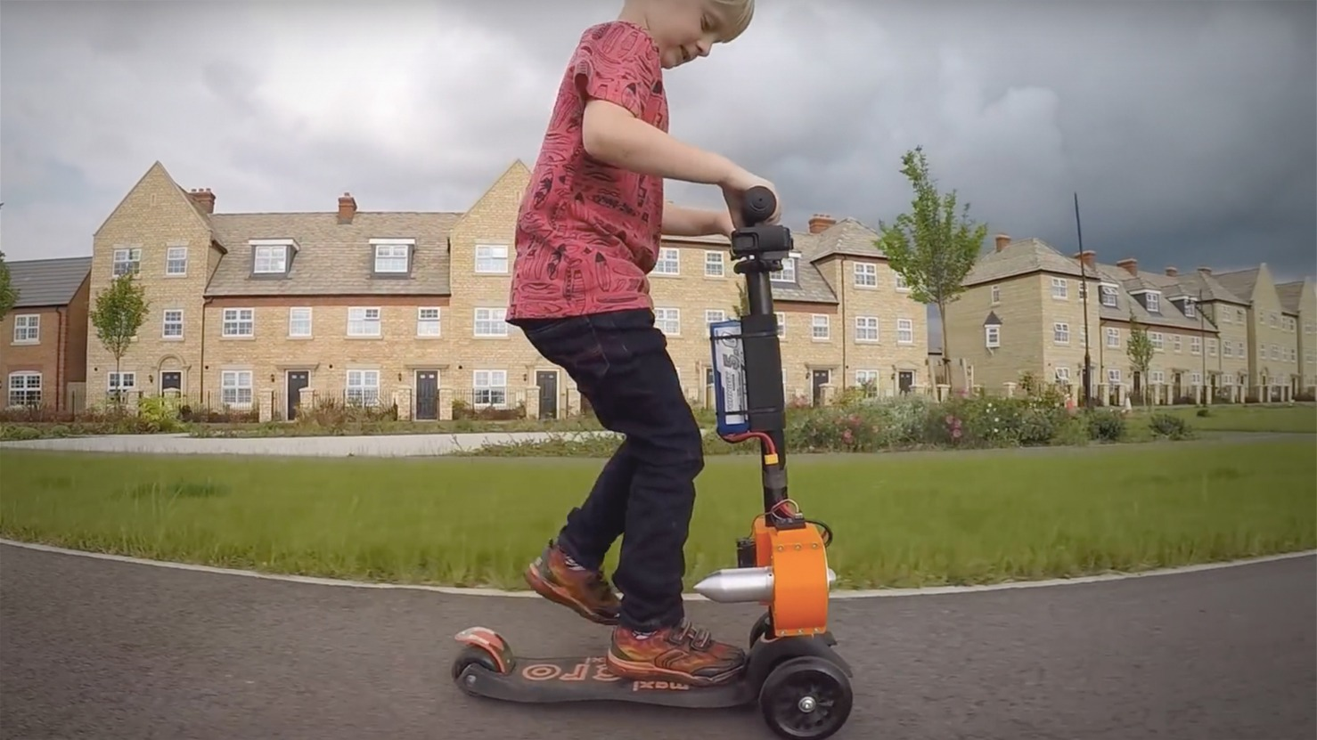 Jet Powered Scooter