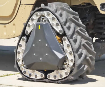 DARPA's New Wheel Technologies Are Literally On A Roll
