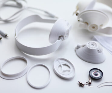3D printed headphones