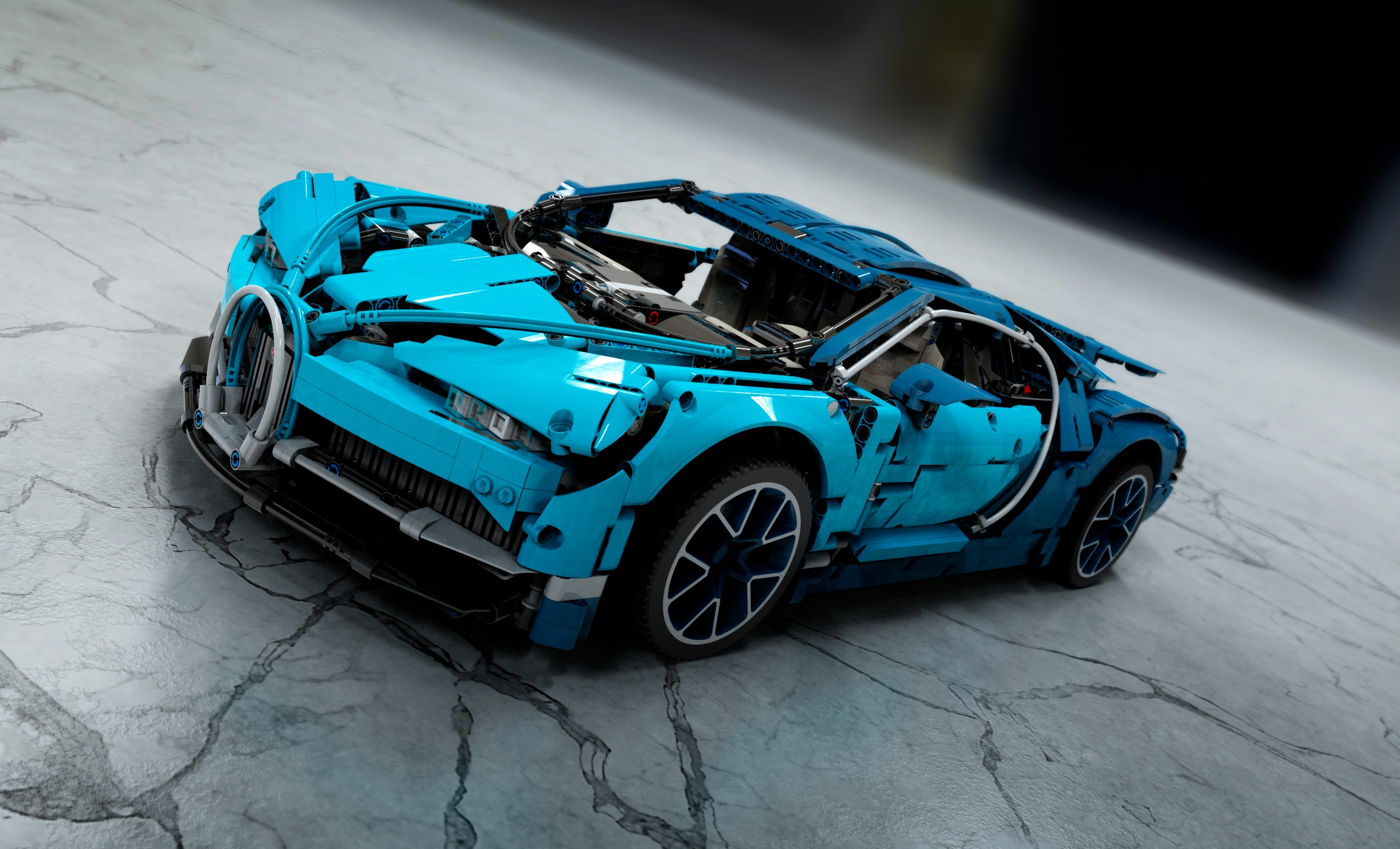 Model Of The Week Lego Technic Bugatti Chiron Brick Me Baby Solidsmack