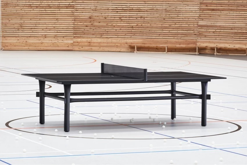 marshmallow ping pong table