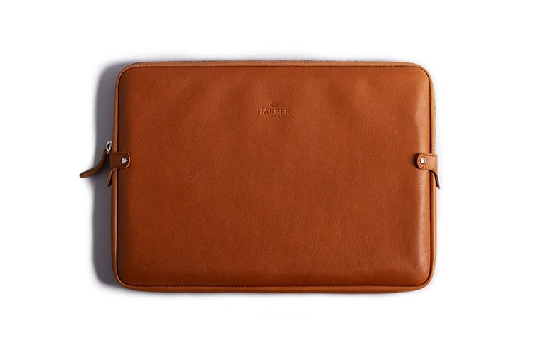 Harber London Leather Laptop Case