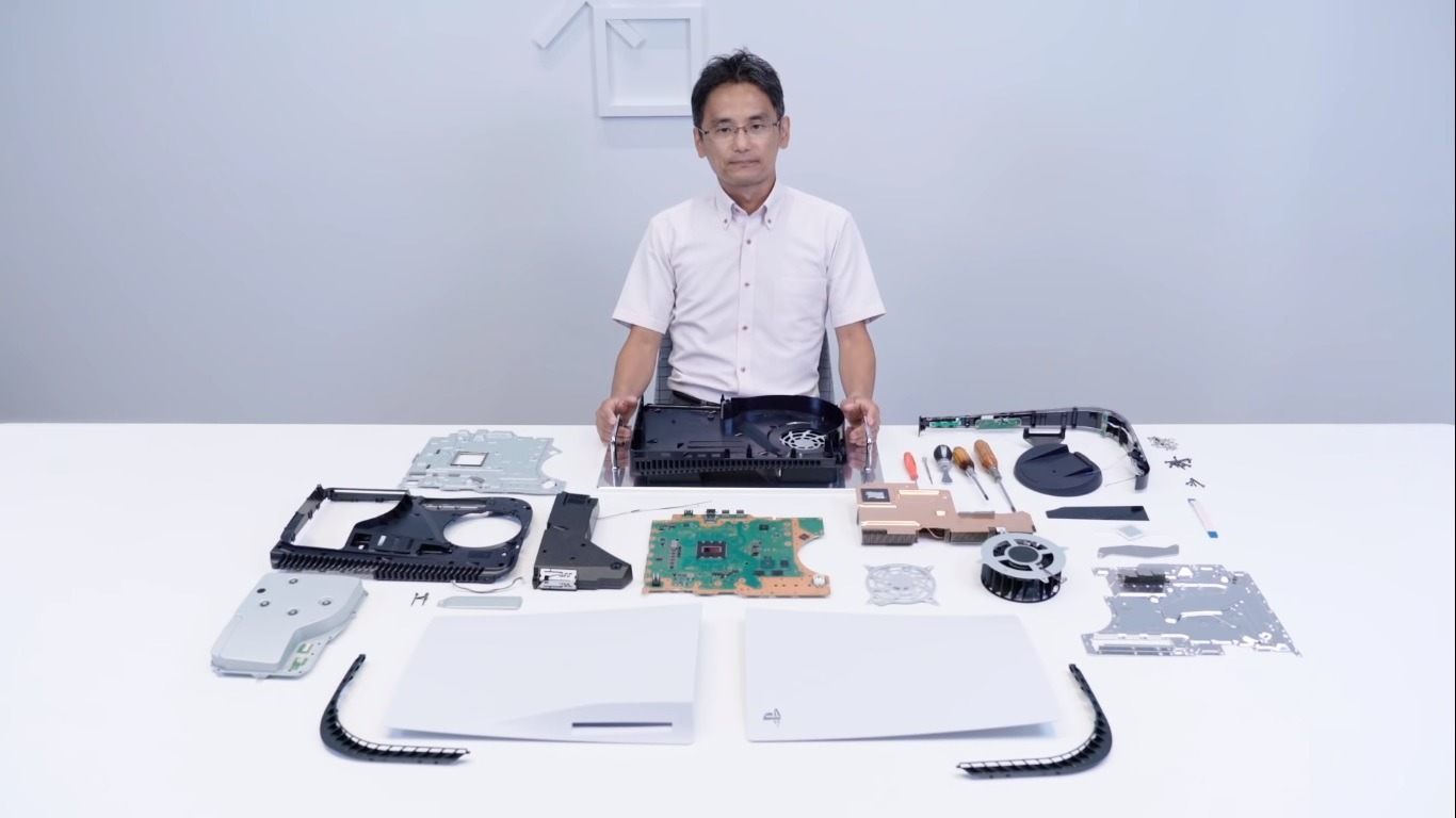 ps5 disassembly