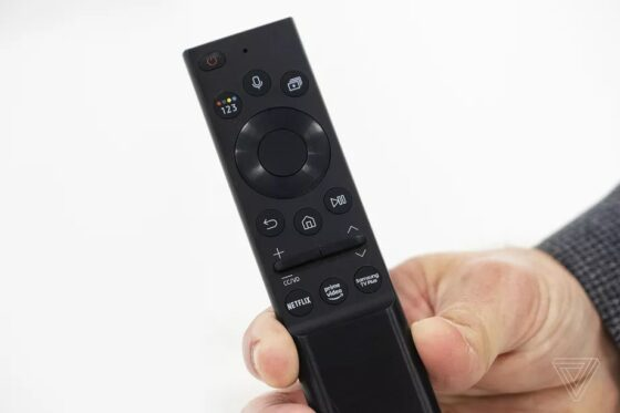 samsung solar powered remote control