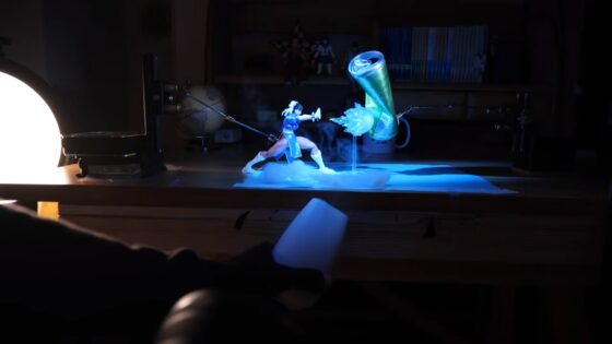 stop motion Street Fighter